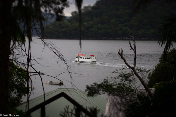 Dangar Island ferry