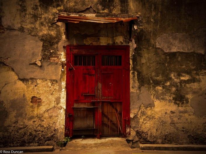 Penang door