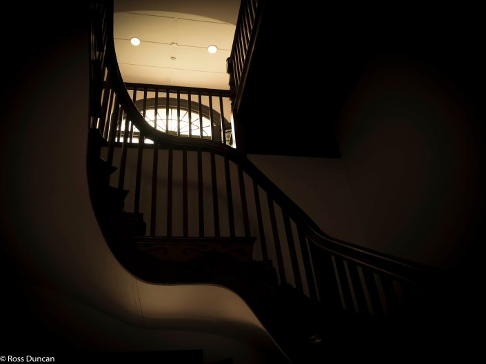 Beautiful internal stairwells.