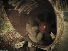 An aircon fan