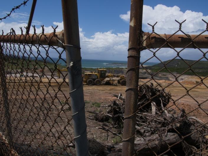 Development underway in the Bay.