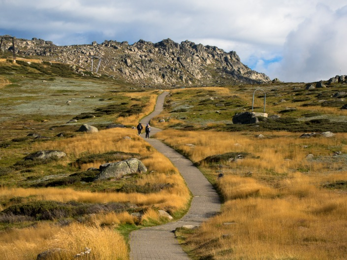 The start of the Kosciuszko path