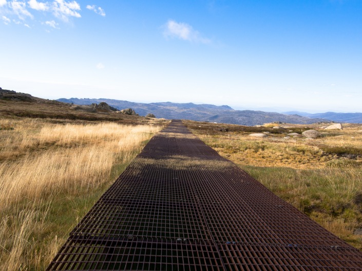 The path across the ranges.